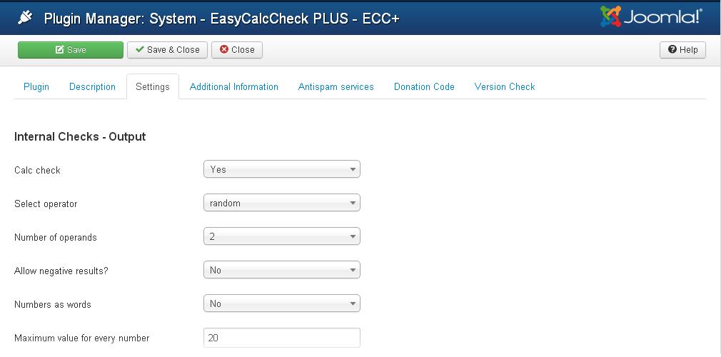 EasyCalcCheck PLUS