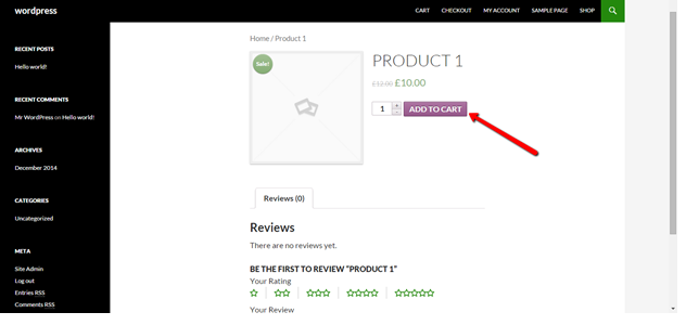 Disable coupons woocommerce specific product function