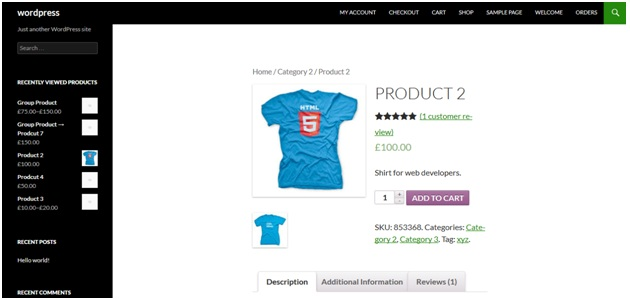 woocommerce how to display custom field value on product page
