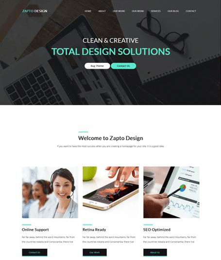 FREE – Zapto – Multi-Purpose WordPress Theme